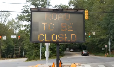 Baltimore Jewish Life | Traffic Alert: Repaving Of Cross